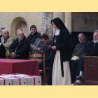 La Mère Abbesse  adresse quelques mots de remerciement à l'assemblée